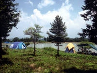 茶臼山高原木のぼりキャンプ村・写真