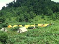 木戸池キャンプ場・写真