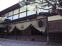 福島関所資料館・写真