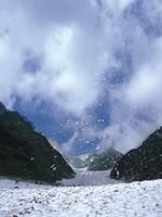 白馬大雪渓遊歩道・写真