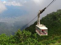 駒ヶ岳ロープウェイ・写真