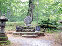 大町桂月の墓・写真