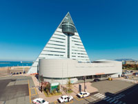 青森県観光物産館アスパム・写真