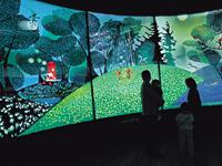 世界の影絵・きり絵・ガラス・オルゴール美術館・写真