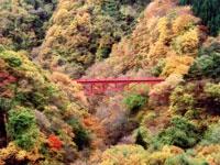 松川渓谷・写真