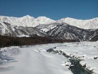 白馬山麓線(村道0105号線)・写真