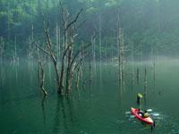 自然湖ネイチャーカヌーツアー・写真