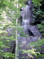 双白髪の滝・写真
