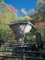 恵那峡 傘岩・写真