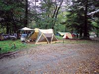 平湯キャンプ場・写真