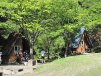 かみいしづ緑の村公園バンガロー村・写真