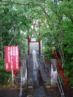 池の谷の吊橋・写真
