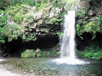陣馬の滝・写真