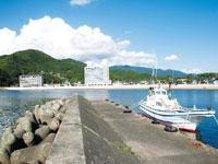 松崎港・写真