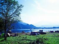 秋元湖キャンプ場・写真