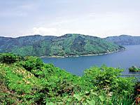 つづら尾崎展望台(奥琵琶湖パークウェイ)・写真