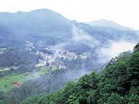 秋山郷の温泉・写真