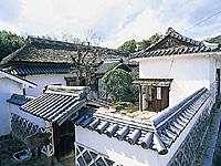 旧足守藩侍屋敷遺構・写真