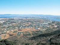 田原市蔵王山展望台・写真