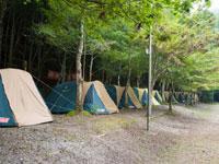 くらがり渓谷キャンプ場・写真