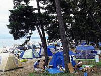 白ひげ浜水泳キャンプ場・写真