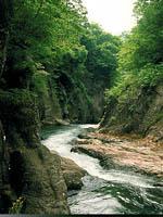 吹割渓谷(吹割の滝)・写真