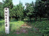 初矢峠の石畳