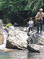 あしがくぼ渓谷国際釣り場・写真
