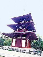 法輪寺三重塔・写真