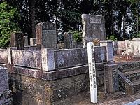 藤田東湖の墓・写真