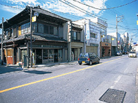 八日市場の旧街道