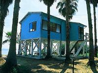 能古島キャンプ村・海水浴場・写真