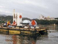 池の浦釣り筏