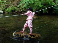 赤目四十八滝 忍者の森・写真