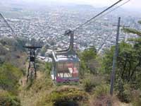 八幡山ロープウェー・写真
