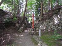 中野(日野)城跡・写真
