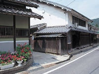 旧鳥居本宿・写真