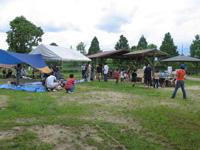 矢橋帰帆島公園キャンプ場・写真