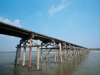 流れ橋(上津屋橋)・写真