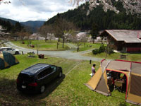 美山町自然文化村キャンプ場・写真