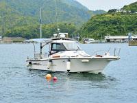 海上タクシー 亀島丸・写真