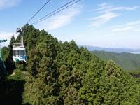 金剛山ロープウェイ・写真