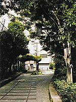 旧南海電鉄平野線平野駅跡プロムナード