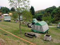 奈佐森林公園キャンプ場・写真
