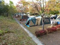 西脇市 日本のへそ 日時計の丘公園オートキャンプ場・写真