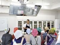 中央市場の料理教室