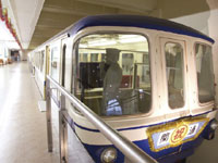 手柄山交流ステーション モノレール展示室