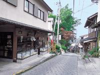 吉野山の町並み