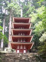 室生寺の紅葉・写真