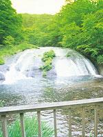 釜淵の滝・写真